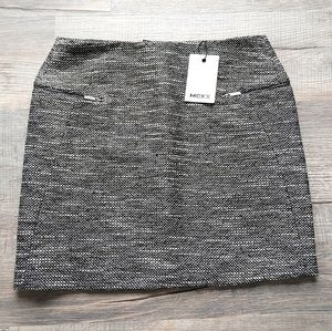 Mexx | tweed knit skirt